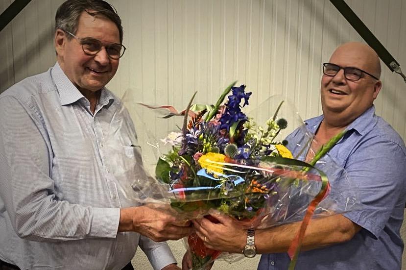 Peter van Dijck en Ton Holthiuijsen